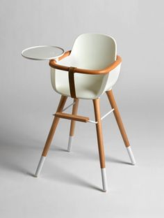 Awesome High Chair - Mid Century Modern Baby Furniture: The Ovo High Chair by Micuna