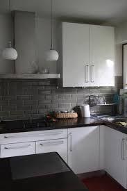 """Résultat de recherche d'images pour """"cuisine grise et blanche"""""""