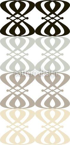Neutral Nouveau - Wallpaper Stripe