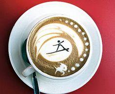 Suffer Dude - Brilliant work art done in coffee