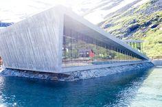 SNAPSHOTS | Norway - Ramona Flume  contrast between concrete and glass