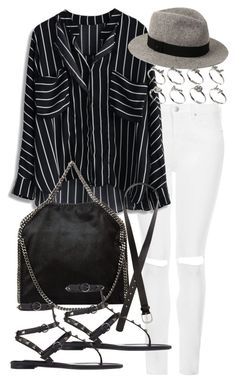 """""""Untitled #17424"""" by florencia95 ❤ liked on Polyvore featuring Topshop, STELLA McCARTNEY, H&M, rag & bone, ASOS and Valentino"""