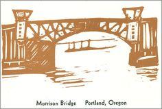 10 Bridges of the Willamette:  Morrison Bridge