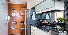 Cozinha confortável | <i>Crédito: Tomás Rangel