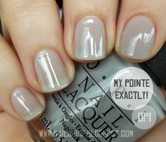 OPI - New York City Ballet Soft Shades Collection Spring/2012 - My Pointe Exactly