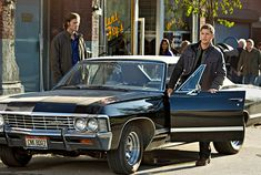 Heaven, Hell, Brothers and an Impala.  Sam & Dean Winchester - Supernatural.
