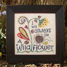 8936 I Will Always be a Wildflower from SamSarah Design Studio