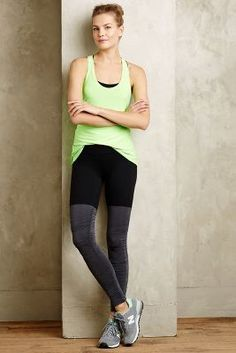 Beyond Yoga Ruched Performance Leggings #anthrofave