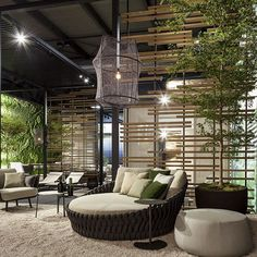 Tosca collection by #monicaarmani at the #salonedelmobile #tribù #isaloni #milanodesignweek2016 #outdoors #outdoorfurniture #design #lounge #luxury