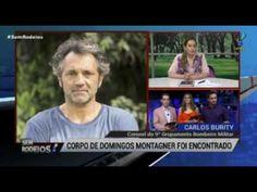 Bombeiro detalha momento em que corpo de Domingos Montagner foi encontrado