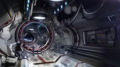 Airlock One, Igor Sobolevsky on ArtStation at http://www.artstation.com/artwork/airlock-one: