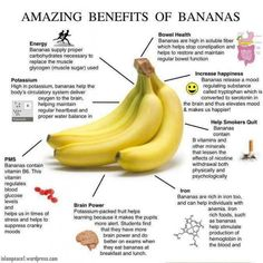 Awesome Benefits Of Bananas  Must Know TipIt #Family #Kids #Trusper #Tip
