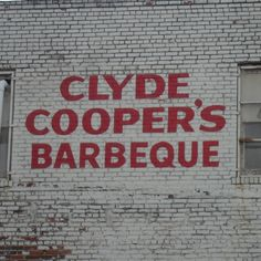 Clyde Coopers- Classic BBQ restaurant in downtown Raleigh