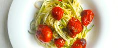 Mommy Nearest - National Zucchini Day: Zoodles with Roasted Cherry Tomato Sauce | Michelle's tiny kitchen