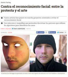 Contra el reconocimiento facial : entre la protesta y el arte / @diarioturing | #readyfordigitalprivacy