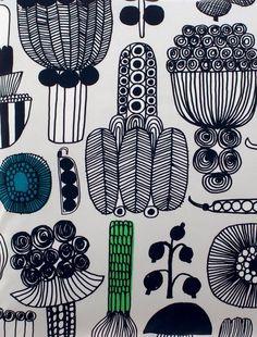 Items similar to Marimekko Puutarhurin Parhaat cushion cover pillow case, Finland, gray green on Etsy Cushion Covers, Pillow Covers, Womens Size Chart, Marimekko, Bold Prints, Good Company, Pillow Shams, Scandinavian, Print Design