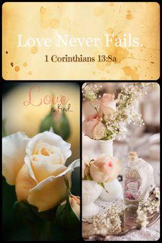 1 Corinthians 13:8a