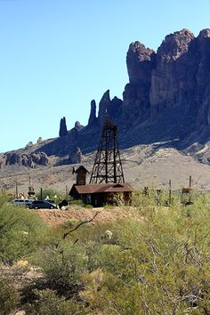 windmill, superstition mountains, Goldfield Ghost Town, Apache Junction, Arizona, AZ