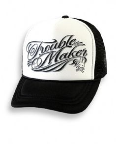 Trouble Maker Toddler/Kids Mesh Trucker Hat