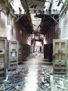 解体前の旧長崎刑務所④[2007/06/10]