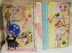 ART Journal - Ich tobe mich aus - Altered Book