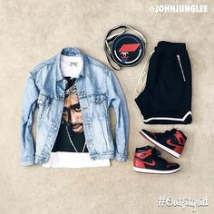 Outfitgrid, daily outfit inspiration Source by Dope Outfits For Guys, Swag Outfits Men, Outfits Hombre, Tomboy Outfits, Cool Outfits, Casual Outfits, Teen Boy Fashion, Tomboy Fashion, Dope Fashion