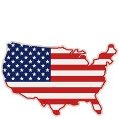 american flag svg scrapbook cut file cute clipart files for rh pinterest com free american flag border clipart free us flag clipart
