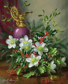 Albert Williams (1922-2010) 'Christmas Rose'