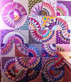 By Chris at Patchwork Fundamentals - amazing New York Beauty blocks