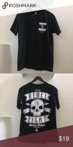 rebel 8 mens tee
