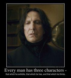 Severus Snape Character | Severus Snape - Three characters by NatalyRahl