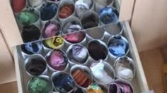 Do you lose your socks all the time because you don't know how to organize them? Try making this sock organizer from paper. You'll never have to worry about them disappearing again.