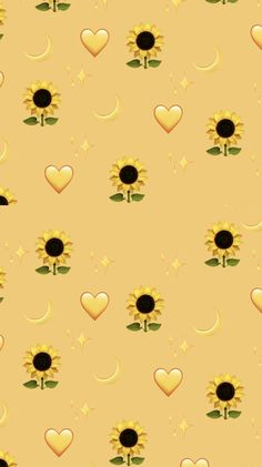 Pin on sunflower wallpaper Iphone Wallpaper Yellow, Emoji Wallpaper Iphone, Cartoon Wallpaper Iphone, Disney Phone Wallpaper, Iphone Background Wallpaper, Kawaii Wallpaper, Galaxy Wallpaper, Funny Wallpapers For Iphone, Iphone Backgrounds