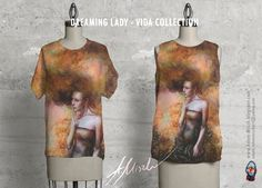 Dreaming Lady' is avaliable in VIDA collection product on site http://shopvida.com/collections/voices/adam-miszk I invite everyone who wants to give me your love voice in fashion and buy my beautiful products.