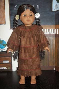 Native American dress for Kaya by GomunkCreations on Etsy, $15.00