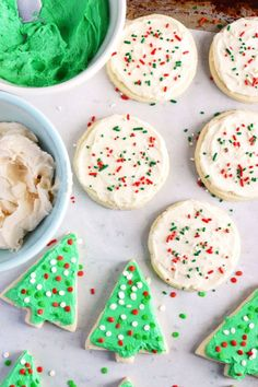 Gluten Free Frosted Sugar Cookies   - Delish.com
