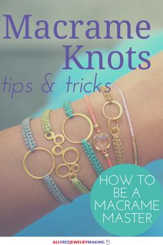 How to Macrame: 7 Must-Know Knots | AllFreeJewelryMaking.com
