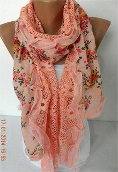 Fashion Scarf Trend Scarf ShawlsScarves ScarfFashion by MebaDesign