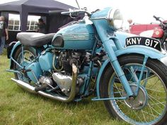 1950 Triumph Thunderbird 6T Outfit Classic Motorcycle Pictures