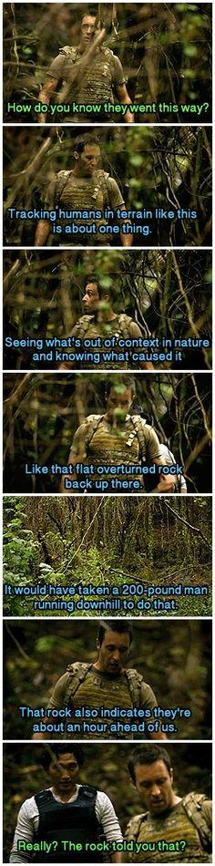 Hawaii Five-0 1x16 MacGarrett the rock whisperer