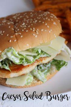Caesar Salad-Burger