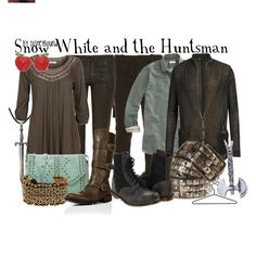 Snow white and the huntsman outfits