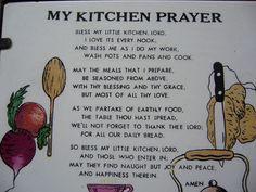 My Kitchen Prayer Helen Steiner Rice Poems, Sleep Prayer, Showers Of Blessing, Mom Poems, Sympathy Quotes, Prayer Wall, Kitchen Quotes, Special Prayers, Inspirational Poems
