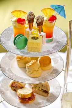 Summer in the City Afternoon Tea at Conrad London St. James - AfternoonTea,co.uk
