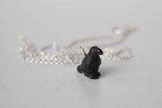Little Crow Necklace