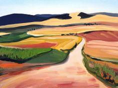 ".""The way in Navarra"" / ""El Camino por Navarra"" by Jacek Malinowski, Poland"