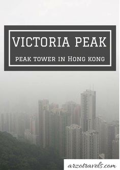 A journey to Hong Kong is not complete without experiencing Victoria Peak. Check…