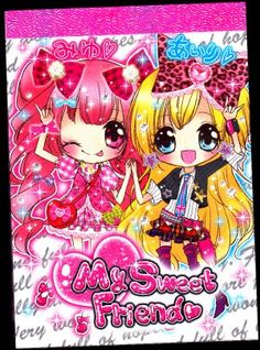Crux Japan My Sweet Friend Mini Memo Pad Kawaii