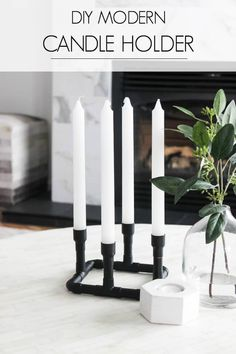 Wow! DIY candle hold