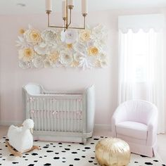 2017 Nursery trends: Big format wall flowers  By @palmbeachlately